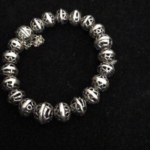Silpada Hemisphere Filigree Ball Bracelet